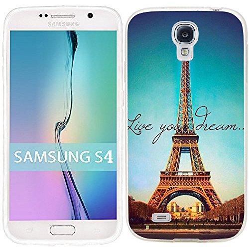 Samsung Galaxy S4 Case Dseason (TM) Samsung S4 Case Fashion Printing Series Plastic Material Like you Dream