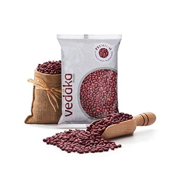Amazon Brand - Vedaka Premium Red Rajma, 1kg