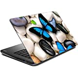 meSleep Butterflies Laptop Skin
