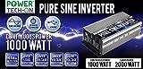 2000 Watt Portable Generator - Power TechON PS1002 Pure Sine Wave Inverter (1000W Cont/2000W Peak)