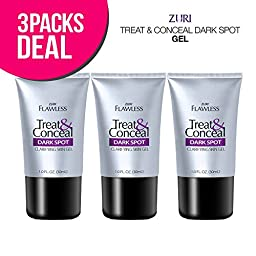 Zuri Flawless Treat & Conceal Dark Spot Skin Clarifying Skin Gel 1 oz. (Pack of 3)