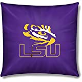 NCAA LSU Tigers Official 15'' Toss Pillow, Set of 2