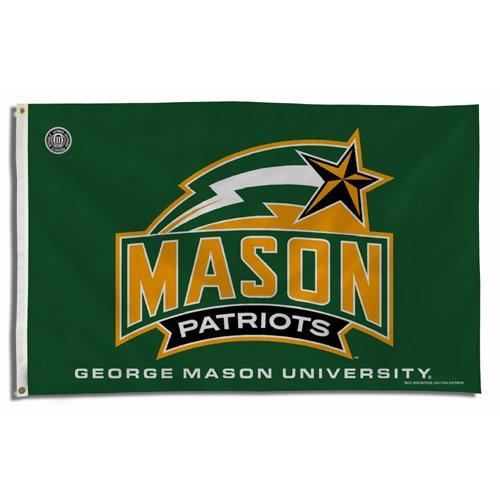 Rico Industries RIC-FGB340301 George Mason Patriots NCAA 3x5 Flag