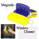 Magnetic Window Wizard Double Side Glass Wiper Cleaner Useful Surface Brush//Asistente magnético ventana limpiador limpiador de vidrio de doble cara cepillo