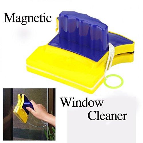 Surface Wipers ([Free Shipping] Magnetic Window Wizard Double Side Glass Wiper Cleaner Useful Surface Brush // Asistente magnético ventana limpiador limpiador de vidrio de doble cara cepillo)