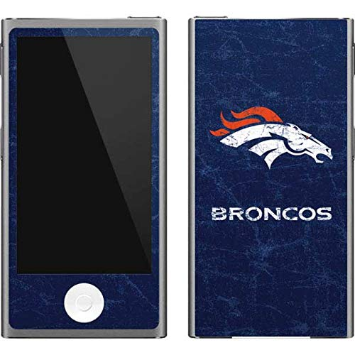 - Skinit NFL Denver Broncos iPod Nano (7th Gen&2012) Skin - Denver Broncos - Distressed Design - Ultra Thin, Lightweight Vinyl Decal Protection