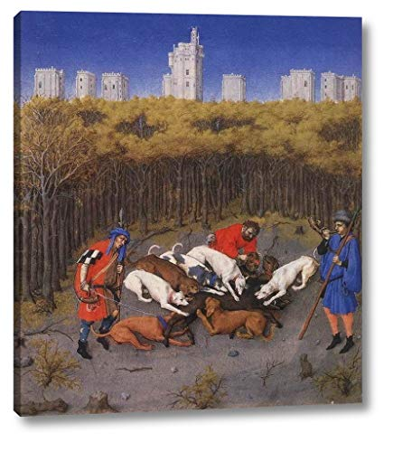 The Very Rich Hours of The Duke of Berry: December by Limbourg Brothers - 19