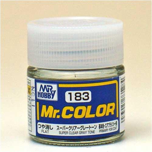 Mr.カラー C183 スーパークリアーグレートーン