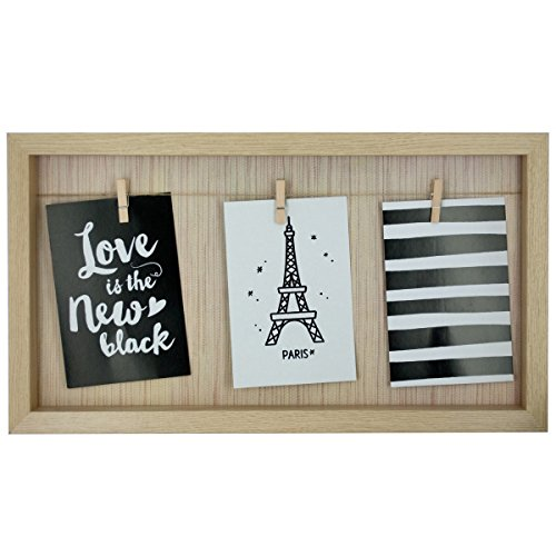 Picture Frame Pet Stocking (Axeton Clothesline Photo Frame, Beige Color)