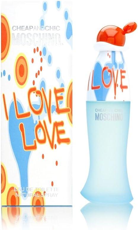 moschino love perfume precio