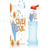 Moschino I Love Eau de Toilette Spray, 100ml, Red (140862)