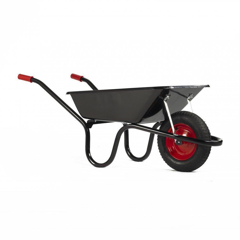 Haemmerlin Chillington 85LTR Camden Classic Wheelbarrow – Black or Silver Pneumatic Tyre Epoxy Powder Coated Tray