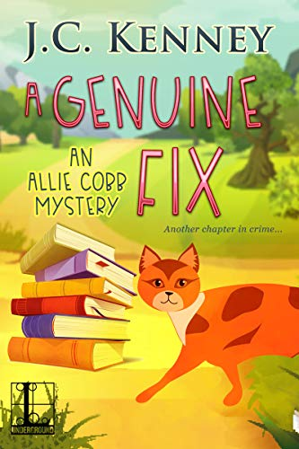 A Genuine Fix (An Allie Cobb Mystery Book 2) by [Kenney, J.C.]