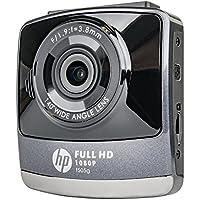 HP F505G Black/Grey 1080p Wide Angle Dashboard Camera Recorder with G-Sensor (Compact, Automobile DVR)