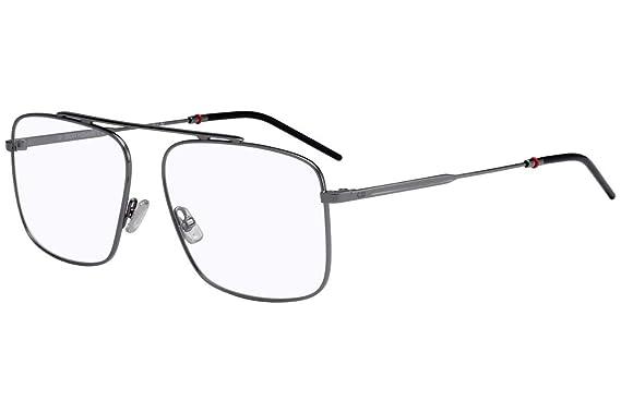 2ea3fd12294 Amazon.com  Christian Dior Homme Dior 0220 Eyeglasses 58-14-150 Dark ...