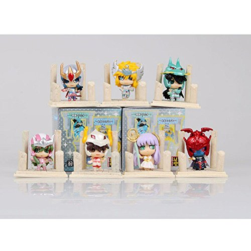 7pcs Saint Seiya Action Figure PVC Figure Model Knights of the Zodiac Japanese Anime Toy