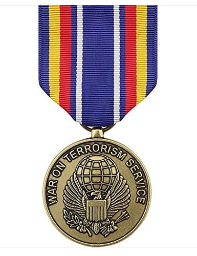 - Vanguard FULL SIZE MEDAL GLOBAL WAR ON TERRORISM SERVICE