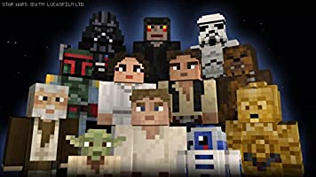 Minecraft - DLC,  Star Wars Classic Skin Pack - Wii U [Digital Code]