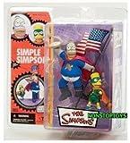 McFarlane Simpsons Homer & Bart Figure - Series 1 'Pie Man & Cupcake Kid'
