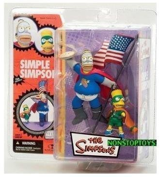 McFarlane Simpsons Homer & Bart Figure - Series 1