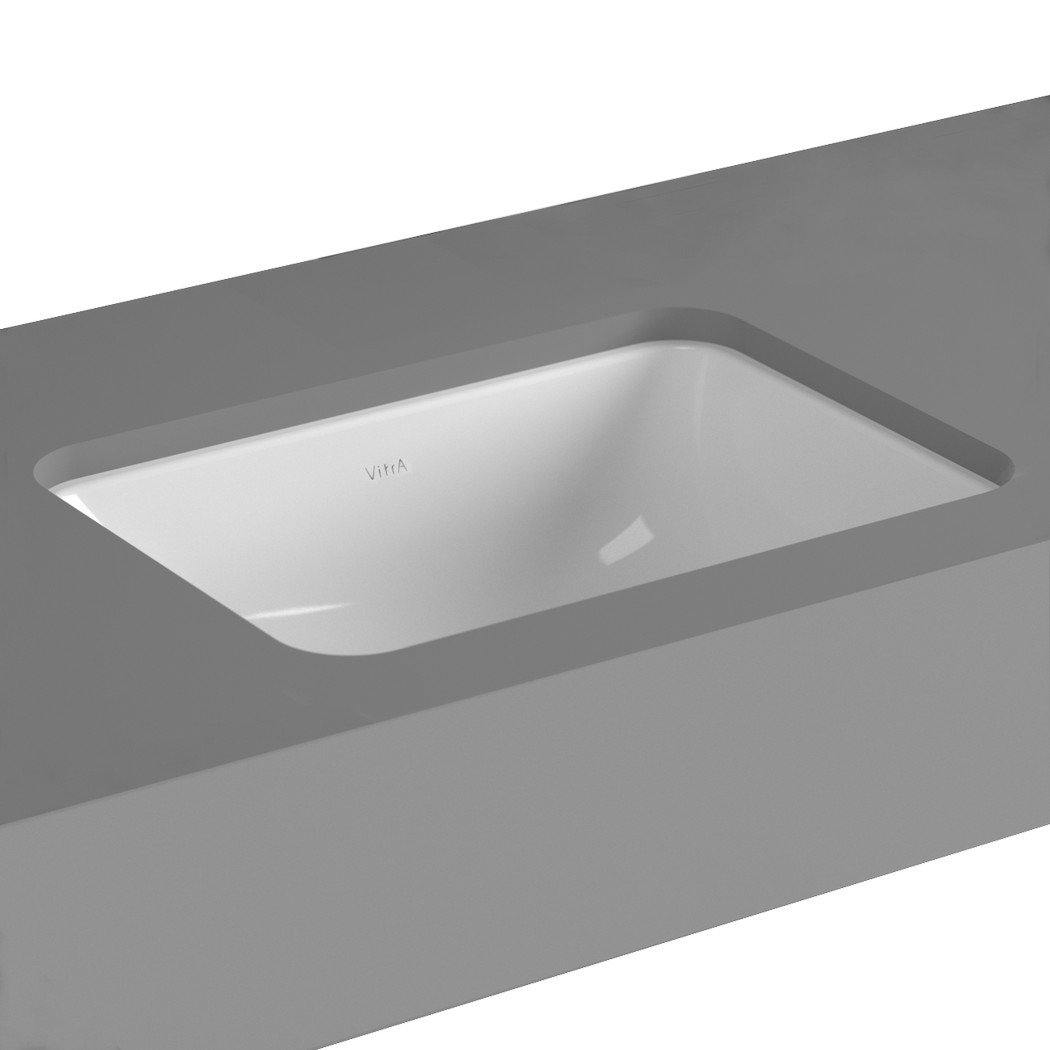 Cheviot Products Inc. 1103-WH Seville Undermount Sink, 14 3/4 x 11 3/4, White 14 3/4 x 11 3/4