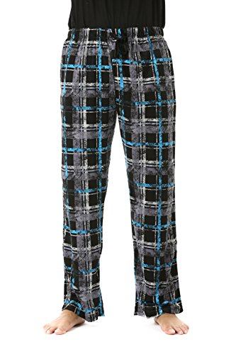 #FollowMe 45903-2B-XL Fleece Pajama Pants for Men/Sleepwear/PJs,Plaid 2b,X-Large