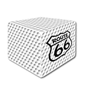 Square Golf Ball The White (66)