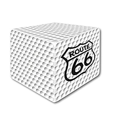 Square Golf Ball The White (66)
