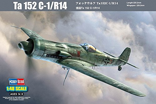 Hobby Boss Ta 152C-1/R14 Fighter Airplane Model Building Kit