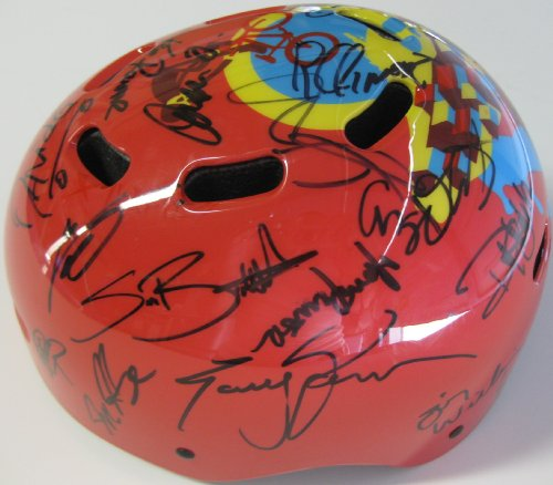 2016, X Games Athletes, Signed, Autographed, Helmet, Ryan Sheckler, Buckey Lasek Plus Lots More, a Coa with the Proof Photos of the X Games Athletes Signing the Helmet Will Be (Lasek Skateboard Helmet)