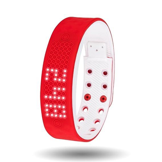 Relojes multifunción relojes elegantes de moda luminoso pulsera impermeable reloj digital para niños-A