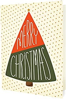 product image for Night Owl Paper Goods Merry Tree Holiday Cards (10 Pack)