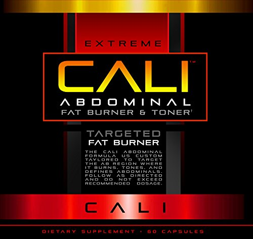 Cali Diet Pills: Targeted Fat Burner for 6 pack Abs, Targeted Weight Loss in the Abdominal Region Diet Pill, Fat Burner for Fast Weight Loss, 60 Capsules