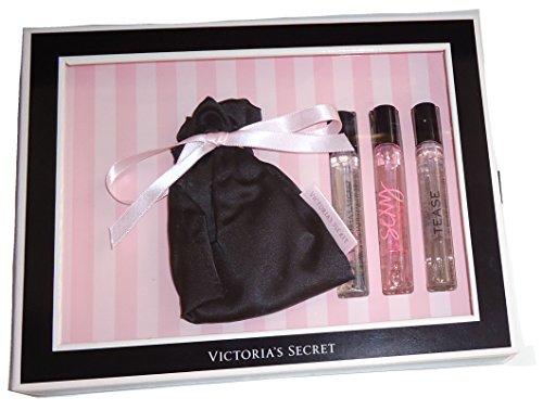 Victoria Secret Eau De parfum Spray 4 pièces Set - bombe Eau donc Sexy taquiner Body Jet Set