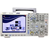 """OWON XDS3202E oscilloscope 200Mhz 1G 2chs 8 bits ADC 40M record length 75,000 wfms/s w/ 3 yrs warranty 1ns/div 8 """"color LCD FFT USB VGA"""