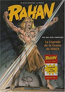 """Afficher """"Rahan n° 10<br /> La légende la grotte de Niaux"""""""