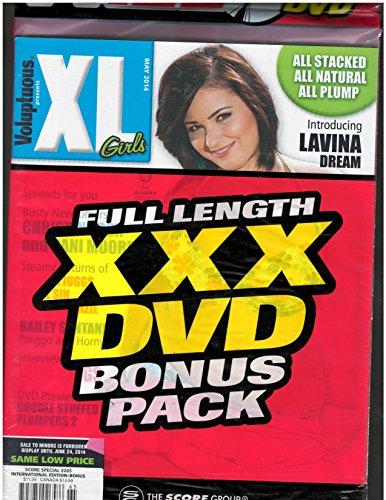 Voluptuous XL Girls Magazine May 2014 Bonus DVD