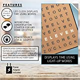 Sharper Image Light Up Electronic Word