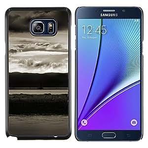 EJOOY---Cubierta de la caja de protección para la piel dura ** Samsung Galaxy Note 5 5th N9200 ** --Paisaje abstracto