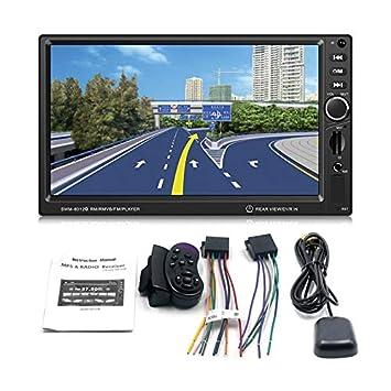 Swm-8012G Pantalla De Pantalla Grande De 7 Pulgadas Navegación GPS DVD del Coche Solicitud De Freno Vehículo Reproductor De Música Soporte Bluetooth Mini ...
