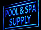 ADV PRO j083-b Pool & Spa Supply Display Shop LED Light Sign