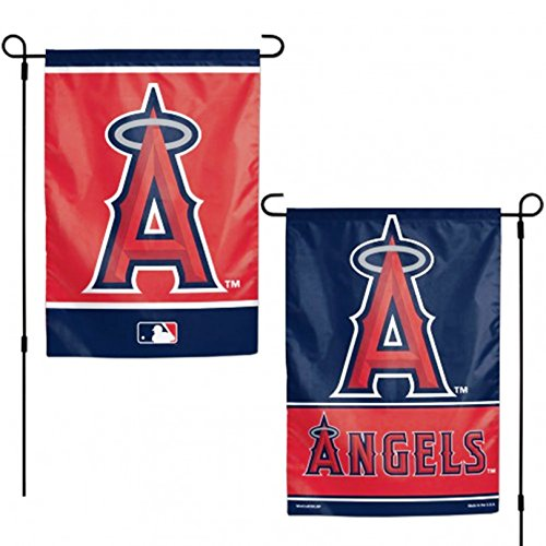 Stockdale Los Angeles Angels WC Garden Flag Premium 2-Sided Outdoor House Banner Baseball