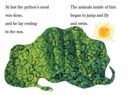 The Greedy Python (The World of Eric Carle)