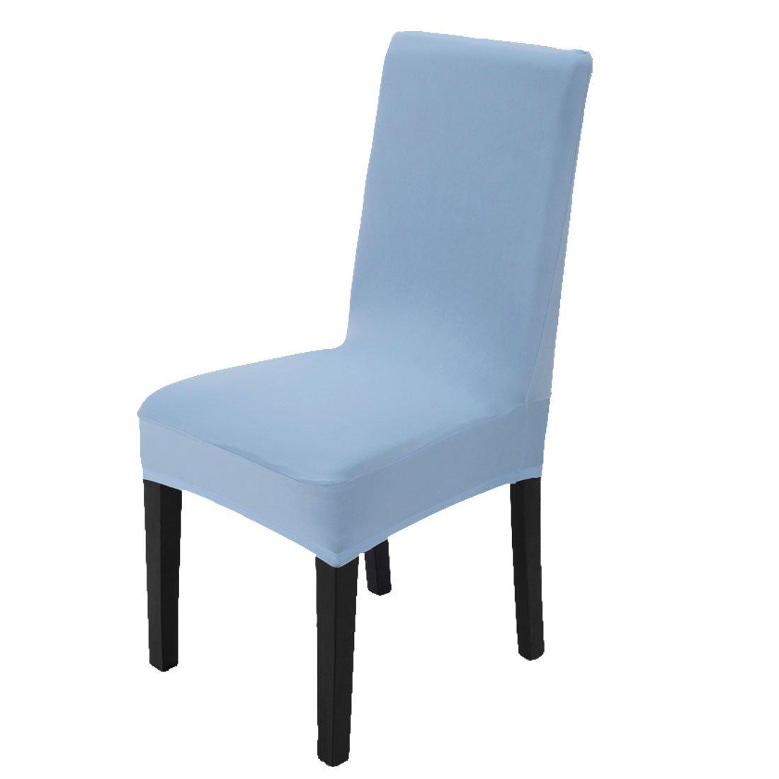 Maikehome - Rivestimento elastico per sedia da pranzo, in elastam; per hotel, cucine, ristoranti, matrimoni, feste e decorazioni; colori in tinta unita Brown