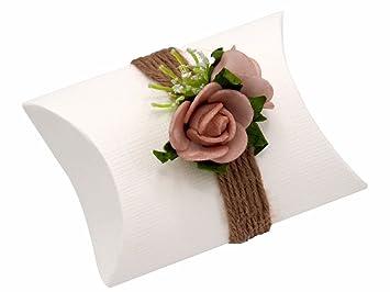 Zauberdeko Gastgeschenk Vintage Hochzeit Tischdeko Rosa Mellow Rose