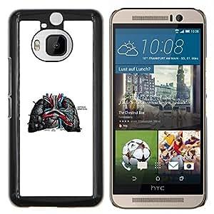 Stuss Case / Funda Carcasa protectora - Las venas del corazón - HTC One M9Plus M9+ M9 Plus