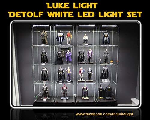 Luke Light Led Light Kit For Ikea Detolf Bright White Tone