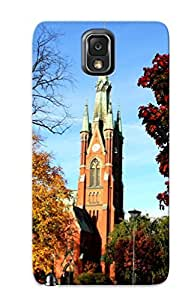 Perfect Fit FfaOMHr2884YLIzb Sweden Buildings Cathedral Church Autumn Fall Case For Galaxy - Note 3