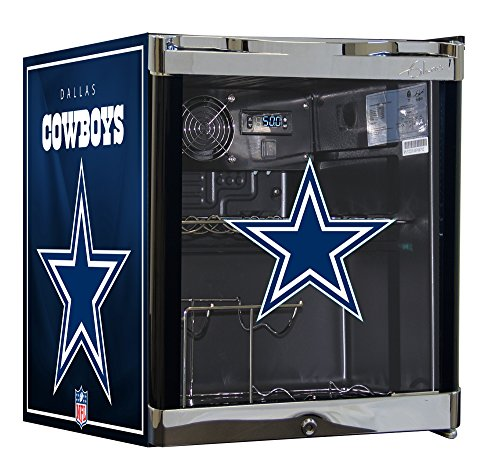 NFL Wine Cooler & Beverage Center Combo - Dallas Cowboys (Dallas Cowboy Door)