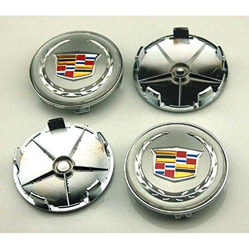 Cadillac Cts Center Cap (4pcs W037 68mm Car Styling Accessories Emblem Badge Sticker Wheel Hub Caps Centre Cover Cadillac ATS CTS EXT SRX XTS XLR)
